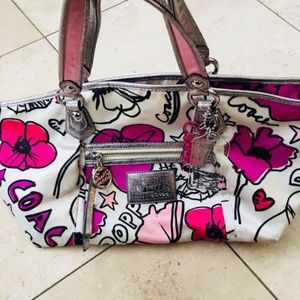 COACH Poppy Spring Collection Purse